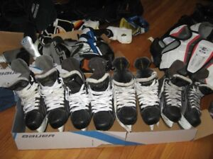 Hockey Skates and Equipment for Sale