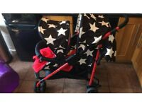 Cosatto Shuffle Tandem Stroller Hipstar ( £170 ONO)