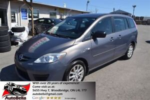2008 Mazda MAZDA5 GS ALLOYS NO ACCIDENT