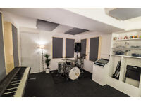Brand new professional rehearsal room for bands and individuals. £15-£25 per session opening offer!!