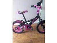 Girls 12 inch diva bike
