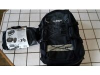 Kriega motor bike rucksack R35 as new and US-20 Drypack