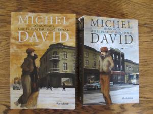 michel david,romans mensonges sur le mont royal