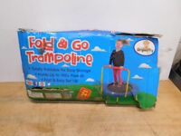 Fold and go trampoline London Ontario Preview
