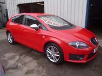 Seat LEON FR CR TDI,5 door hatchback,FSH,1 previous owner,2 keys,runs and drives as new,only 29,000