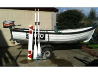 "Orkney 12'6"" Boat"