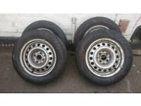 175/65/R14. Tyres on Volkswagen rims