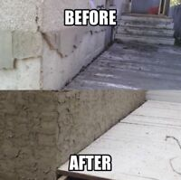 Stucco & Parging Repairs- Big or Small- Fast, Efficient, Quality