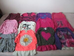 GIRLS LONG SLEEVE SHIRTS, LIGHT JACKETS