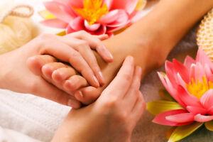 Beauty and professional RMT massage