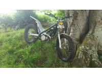 Sherco trials bike