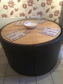 Kitchen table and 4 chairs - collection only