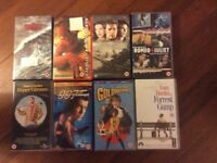 Collection of. VHS video rated 12