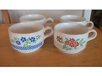 Set of 4 Soup Mugs