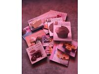 11 cake/cupcakes/cookies/brownies/muffin cook/recipe books