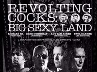 2 GA tickets for Revolting Cocks 26/8 London Islington Academy face value sold out