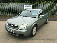 2003 03 vauxhall vectra life low miles full history bargain