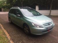 PEUGEOT 307 SW AUTO 7 SEATER 2005 FULLY LOADED GLASS ROOF LOADS OF EXTRAS DRIVES THE BEST