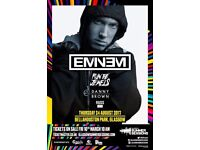 EMINEM GLASGOW TICKET