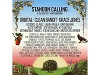 Standon Calling Festival: Two Adult Weekend Tickets and campervan pass for sale