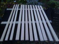 garden bench slats