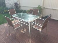Garden table and chairs *BARGAIN*