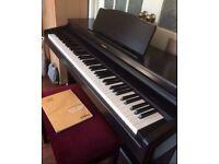 Electric Digital Piano, Roland HP237e plus accessories