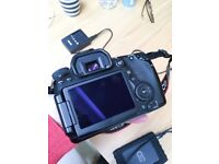 Canon 70D Body-Only, Battery + Charger