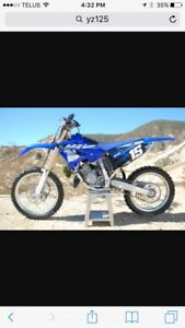 Looking for yz 125