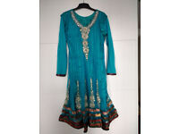 Salwar with dupatta and trousers