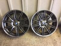 "BMW 19"" MV4 Front alloy wheels"