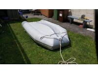 Zodiac 3 metre inflatable dinghy and Mariner 3.3hp outboard