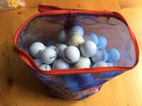 Bag of golf balls