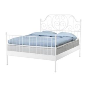 ikea furniture(queen size bed frame, chair, table,matress)