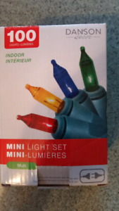 100  mini interior Christmas lights