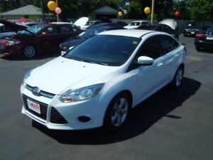 2014 FORD FOCUS SE- BACKUP SENSOR, HEATED FRONT SEATS, SYNC, SPE