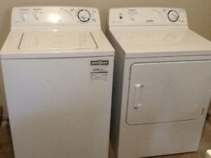 moffat washer dryer..excellent condition..white..not usd much..