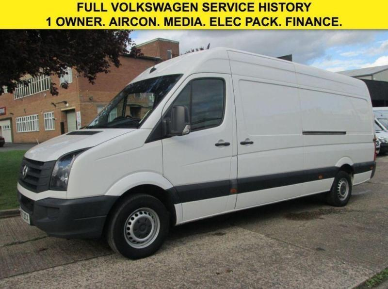 2013 63 VOLKSWAGEN CRAFTER 2.0TDI CR35 LWB HIGH ROOF. AIRCON. ELECTRIC PACK. PX