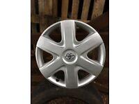 Toyota aigo brand new wheel trim