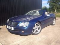 2005 Mercedes-Benz SL Class 3.7 SL350 Full Service History, Mercedes Direct Stamps.Finance Available