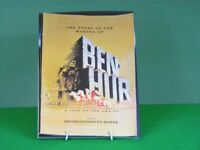 Original souvenir booklet of the making of Ben Hur, 1959.