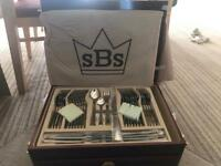 SBS Bestecke Canteen of Cutlery 86 piece