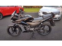 2013 Honda CBF125 with Top Box and Heated Grips