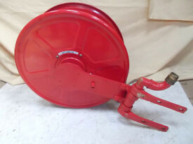 Fire Hose with Reel and Wall Bracket