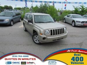 2010 Jeep Patriot SPORT | FINANCING FOR ALL CREDIT TYPES