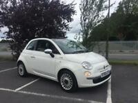 Fiat 500 1.2 LOUNGE lovely spec finance available from £30 per week