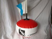 Diving surface marker buoy
