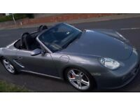Porsche Boxster 3.2 987 S Convertible - Metallic Grey, Full Leather, 10 months MOT, 18'' Alloys