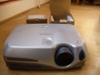 Used Hitachi CP-X444 LCD Projector with 2 New Bulbs