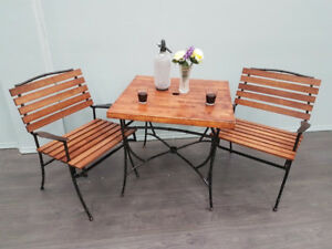 Antique Patio Set